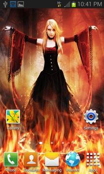 Dance On Fire LWP apk screenshot