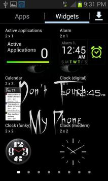 Don't Touch My Phone LWP screenshot 2
