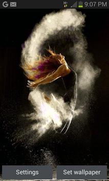 Fantasy Dancing Girl LWP poster