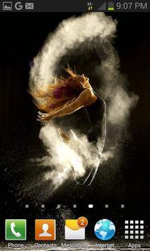 Fantasy Dancing Girl LWP apk screenshot