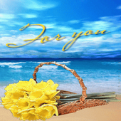 Flower On Beach LWP icon