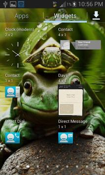 Green Frog Live Wallpaper apk screenshot