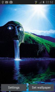 Green Park Waterfall LWP poster