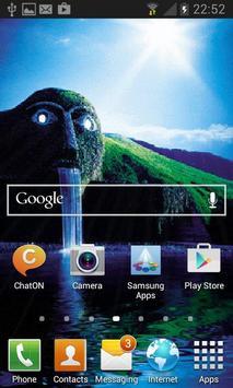 Green Park Waterfall LWP apk screenshot