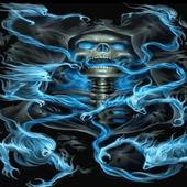 Haunted Skull Live Wallpaper icon