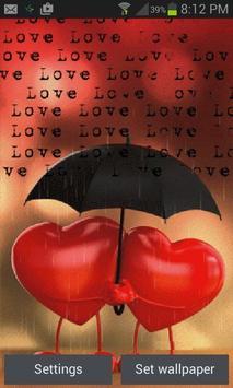 Heart In Rain LWP poster