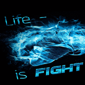 Life Is Fight LWP icon