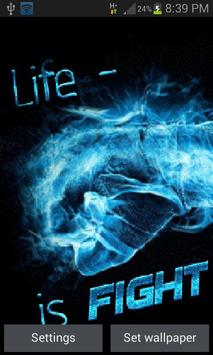 Life Is Fight LWP poster