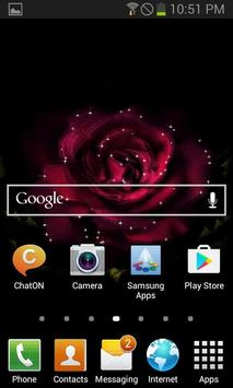 Light Rose Blooming LWP screenshot 1