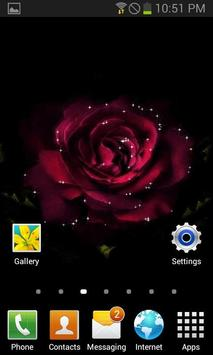 Light Rose Blooming LWP screenshot 2