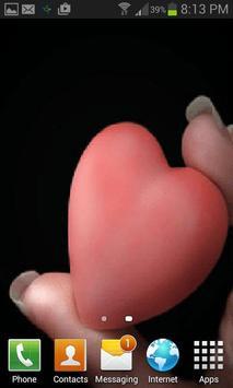 Little Heart Beating LWP apk screenshot
