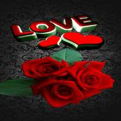Lovely Roses Live Wallpaper icon