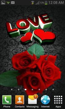 Lovely Roses Live Wallpaper apk screenshot