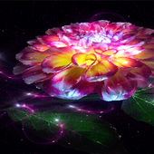 Magic Flower Light LWP icon