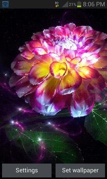 Magic Flower Light LWP poster