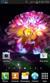 Magic Flower Light LWP screenshot 1