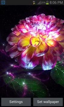Magic Flower Light LWP poster