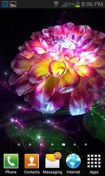 Magic Flower Light LWP apk screenshot