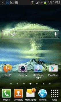 Mountain Tornado LWP apk screenshot