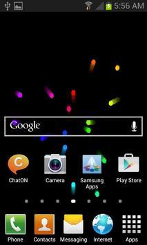 Moving Balls Live Wallpaper screenshot 1