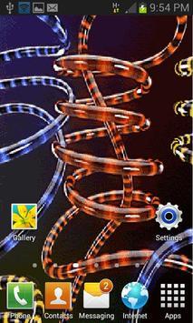 Multicolor Rope Lighting LWP apk screenshot