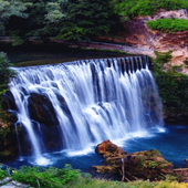 Nature Waterfall View LWP icon