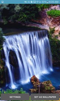 Nature Waterfall View LWP poster