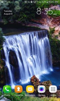 Nature Waterfall View LWP apk screenshot