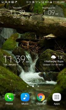 Nature Water Scene LWP apk screenshot
