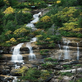 Nature Hilly Waterfall LWP icon
