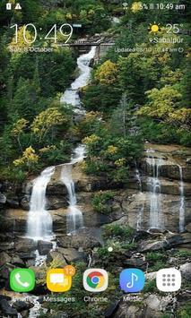 Nature Hilly Waterfall LWP apk screenshot