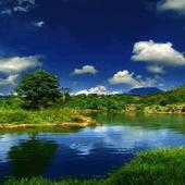 Nature Lagoon Live Wallpaper icon