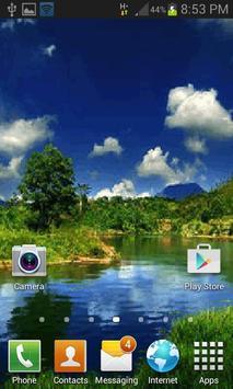 Nature Lagoon Live Wallpaper screenshot 1