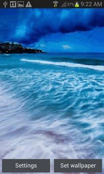 Nature Seashore Live Wallpaper poster