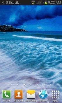 Nature Seashore Live Wallpaper screenshot 1