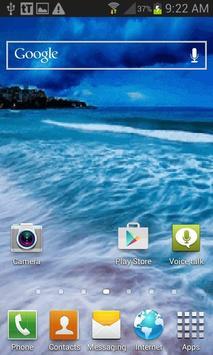 Nature Seashore Live Wallpaper screenshot 2