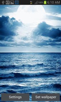 Ocean Sunset Live Wallpaper poster