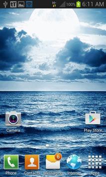 Ocean Sunset Live Wallpaper apk screenshot