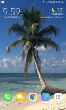 Ocean Tree Live Wallpaper apk screenshot