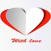 Paper Heart Live Wallpaper icon
