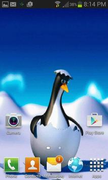 Penguin Egg Live Wallpaper apk screenshot