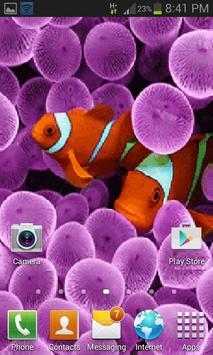 Purple Jelly Live Wallpaper apk screenshot