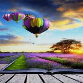 Purple Land Live Wallpaper icon