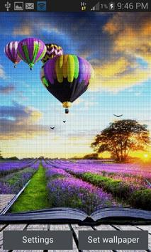 Purple Land Live Wallpaper poster