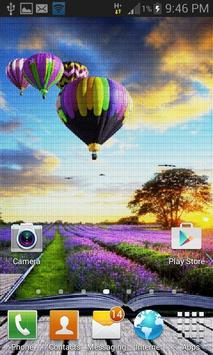 Purple Land Live Wallpaper apk screenshot