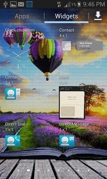 Purple Land Live Wallpaper apk screenshot