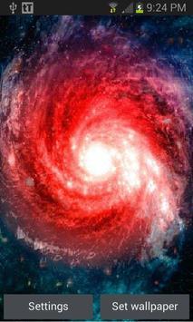 Red Tornado Galaxy LWP poster