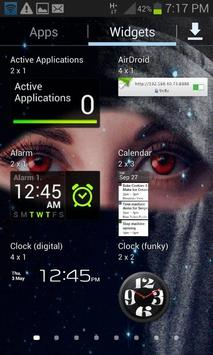 Red Eyes Live Wallpaper apk screenshot