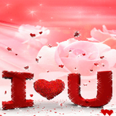 Red Hearts Rose LWP icon