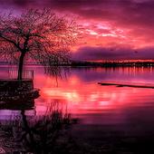 Redish Evening Lake LWP icon